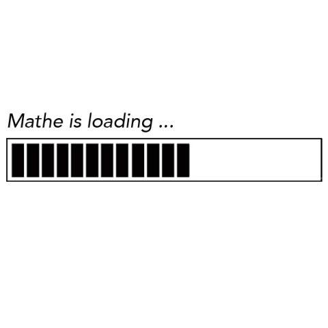 Mathe is loading - Fortschrittsbalken