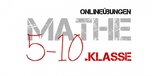 Mathe 5-10. Klasse - Mathe online üben
