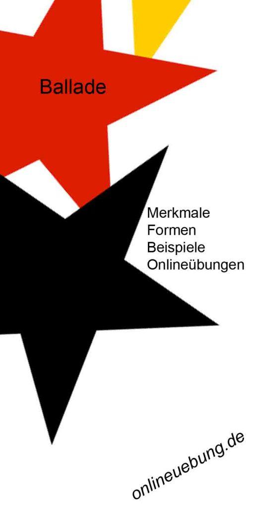Deutsch - Ballade untersuchen