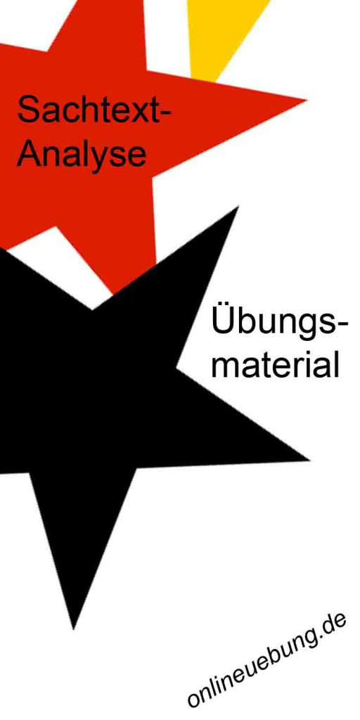 Deutsch - Sachtextanalyse - Uebungsmaterial