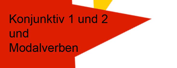 Konjunktiv 1 und 2 und Modalverben üben