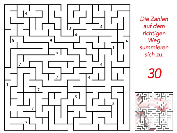 Labyrinthmaker für Escape games