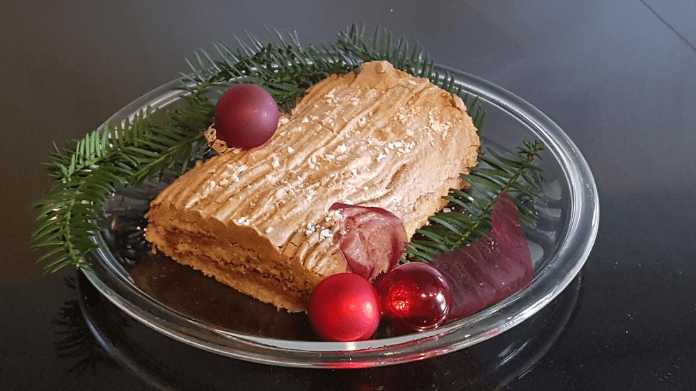 Französische Weihnachtstradition: la bûche de Noël