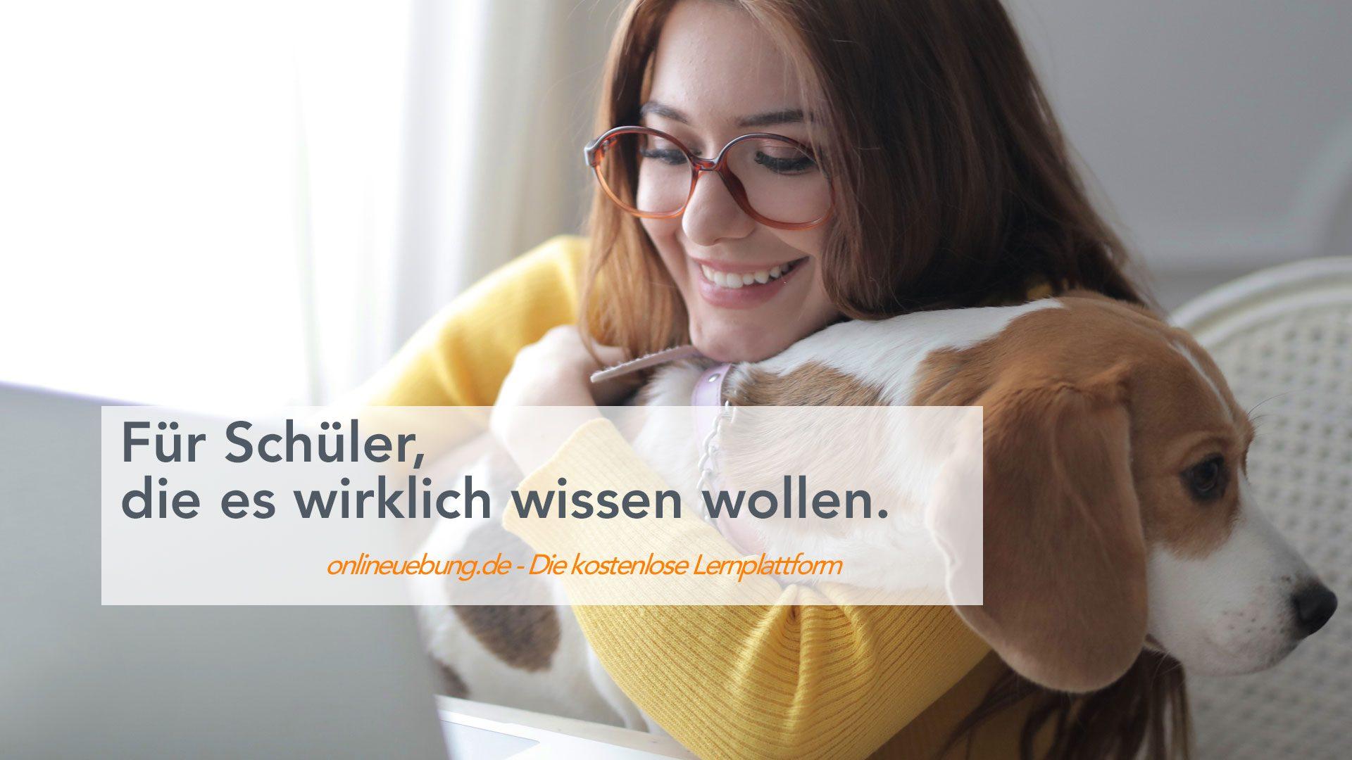 onlineuebung.de - Für Schüler, die es wirklich wissen wollen.