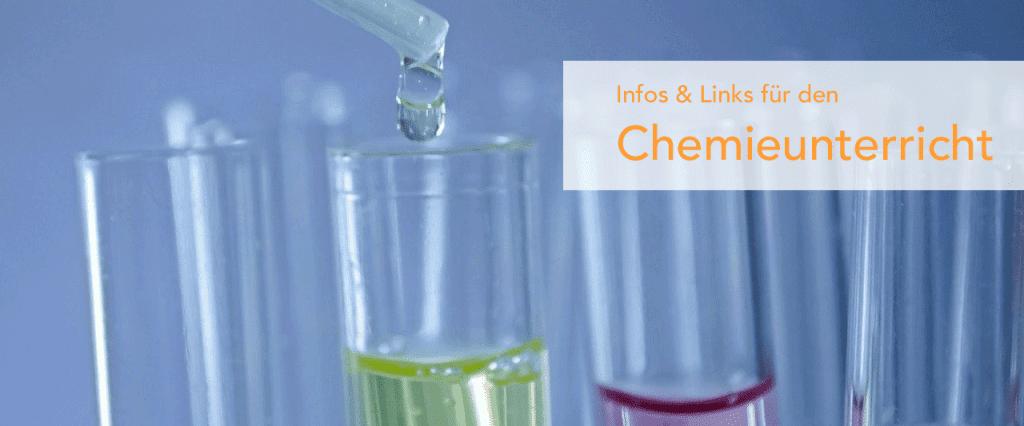 Infos und Links für den Chemieunterricht