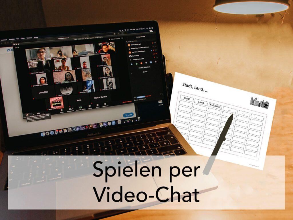Spiele für Videokonferenzen