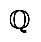 Reelle Zahlen - Rationale Zahl - Symbol Q