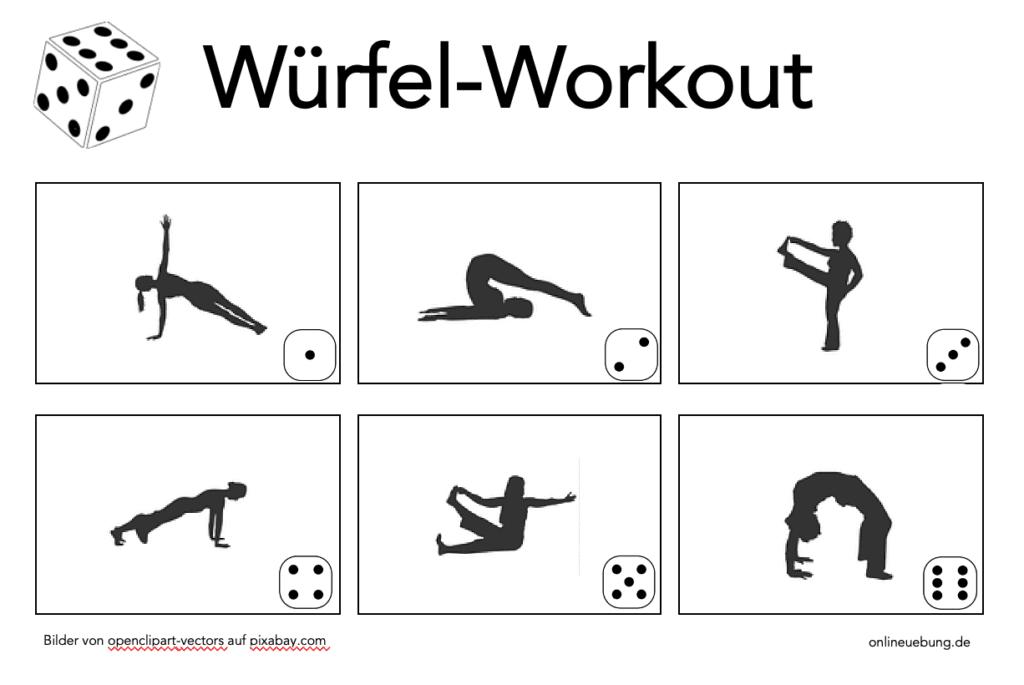 Würfel-Workout